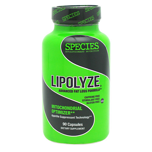 Species Nutrition Lipolyze - 90 capsules