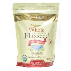 Spectrum Essentials Organic Whole Flaxseed