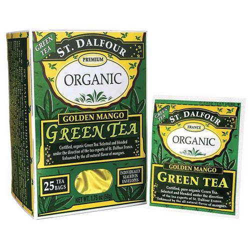 Organic Green Tea Golden Mango