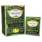St Dalfour Organic Green Tea Golden Mango - 25 Bags