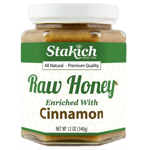 Enriched Raw Honey