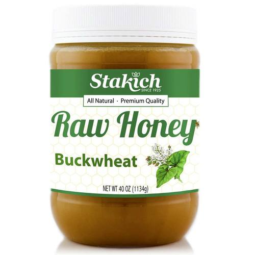Stakich Enriched Raw Honey Buckwheat - 40 oz - 54005_00.jpg