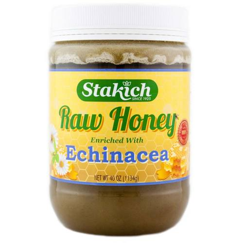 Echinacea Enriched Raw Honey