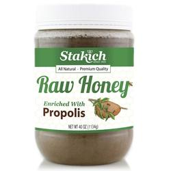 Stakich Propolis Enriched Raw Honey