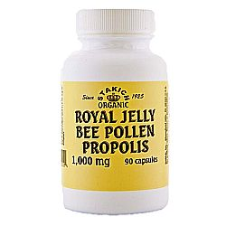 Stakich Royal Jelly Bee Pollen and Propolis