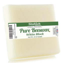 Stakich Pure White Beeswax