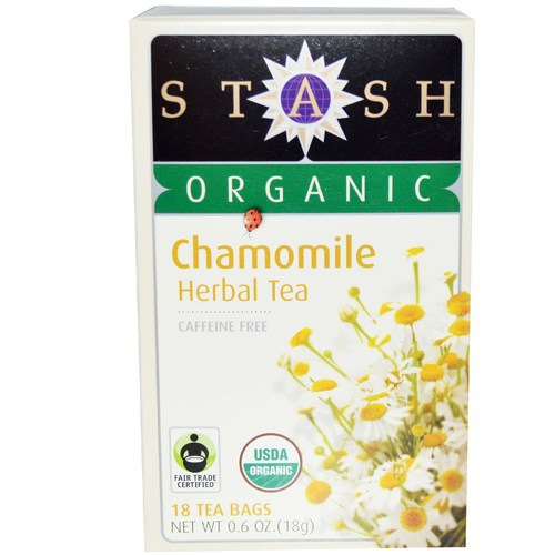 Stash Tea Organic Tea Chamomile - Herbal - 18 Bags - 56229_a.jpg