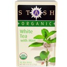 Stash Tea Organic Tea - White Tea - with Mint - 18 Bags