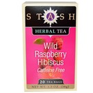 Stash Tea Premium Herbal Tea - Wild Raspberry Hibiscus - 20 Bags