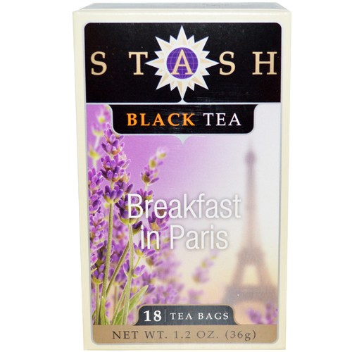 Stash Tea Black Tea Breakfast Blend - In Paris - 18 Bags - 63160_a.jpg