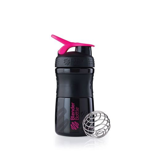Sundesa Blender Bottle SportMixer, Μαύρος/Pink - 20 oz