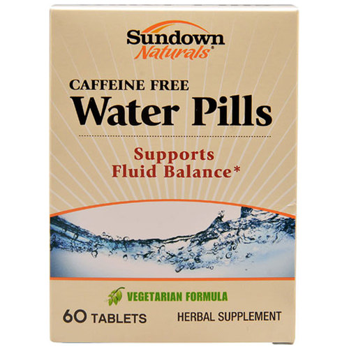 Caffeine Free Water Pills