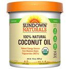 Sundown Naturals Organic Coconut Oil
