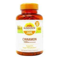 Sundown Naturals Cinnamon