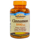 Sundown Naturals Cinnamon - 1,000 mg - 200 Capsules