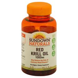 Sundown Naturals Red Krill Oil