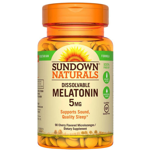 Dissolvable Melatonin