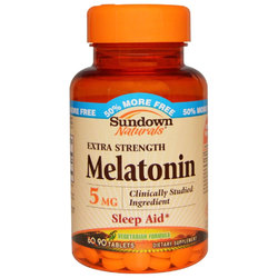 Sundown Naturals Melatonin