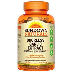 Sundown Naturals Garlic Extract