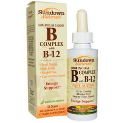 Sundown Naturals Liquid B Complex