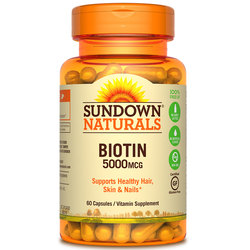 Sundown Naturals High Potency Biotin