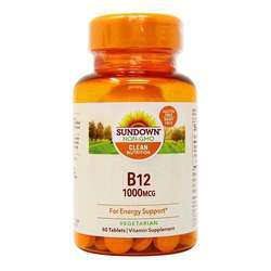 Sundown Naturals High Potency B12