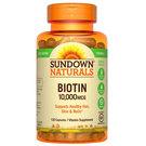 Sundown Naturals Biotin