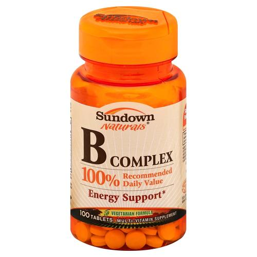 Sundown Naturals B  Complex Review