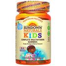 Sundown Naturals Complete Kids Multivitamins - Doc McStuffins - Grape, Orange and Cherry - 60 Gummies
