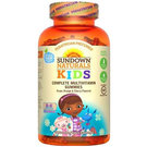 Sundown Naturals Complete Kids Multivitamins - Doc McStuffins - Grape, Orange and Cherry - 180 Gummies