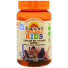 Sundown Naturals Complete Kids Multivitamins - Star Wars - Mixed Berry, Raspberry & Pineapple Flavor - 60 Gummies