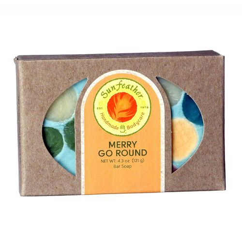 Sunfeather Merry Go Round Soap  - 4.3 oz - 708930202692_1.jpg