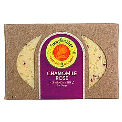 Sunfeather Chamomile Rose Soap