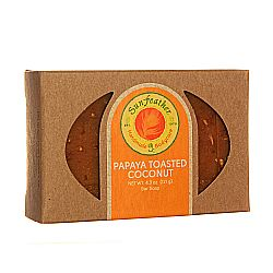 Sunfeather Papaya and Toasted Coconut Soap