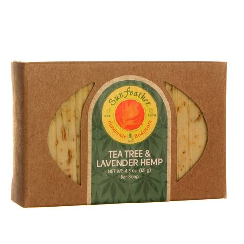 Tea Tree and Lavender Hemp Soap