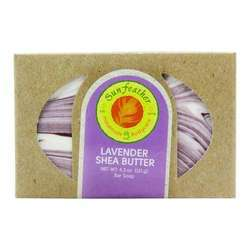 Sunfeather Lavender Shea Butter Soap