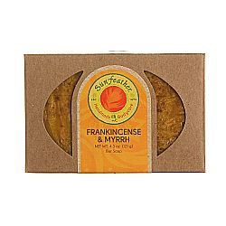Sunfeather Frankincense and Myrrh Soap