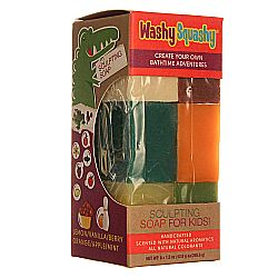 Sunfeather Washy Squashy Sculpting Soap