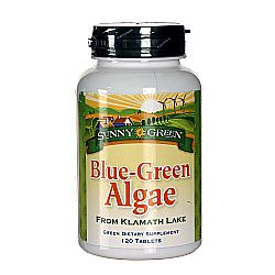 Sunny Green Blue Green Algae