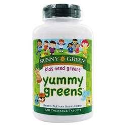Sunny Green Yummy Greens