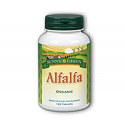 Sunny Green Alfalfa Leaf