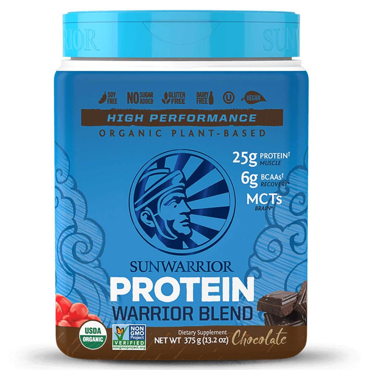 Sunwarrior Warrior Blend Protein Chocolate   8 g 8.8 oz