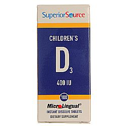 Superior Source Children's D3, 400 IU
