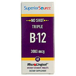 Superior Source No Shot Triple B-12
