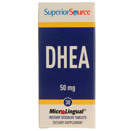 Superior Source DHEA  - 50 mg - 30 Tablets - 20121008_107.jpg