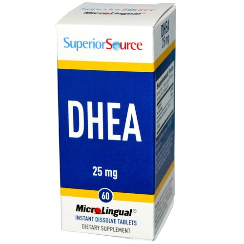 Superior Source DHEA  - 25 mg - 60 Tablets - 276407_a.jpg