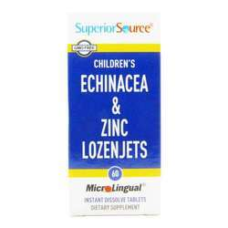 Superior Source Children's Echinacea and Zinc Lozenjets
