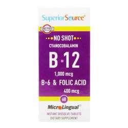 Superior Source No Shot B12 Cyanocobalamin