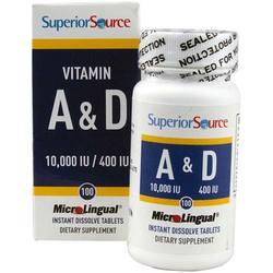 Superior Source Vitamin A  D