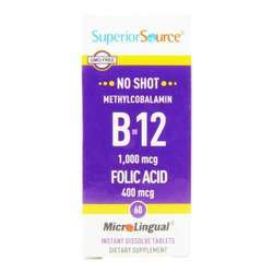 Superior Source No Shot Methylcobalamin B12